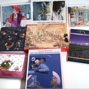 Other - Blank Note Card Set Lot Of 8 Sets